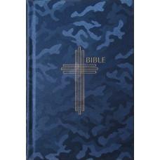 Bible ekumenická 2021 střední velikost, jednosloupcová, modrá