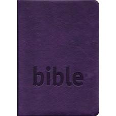 Bible Český studijní překlad, měkká vazba, fialová barva