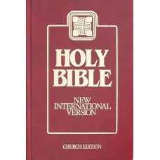 Bible anglická - New International Version - Church Edition 1989 (used)