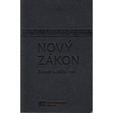 Nový zákon - ekumenický překlad - černá barva, obal - umělá kůže