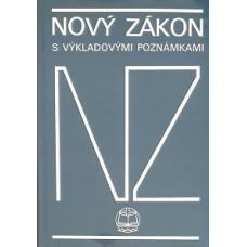 Nový zákon - Ekumenický s výkladovými poznámkami 1991 (bazar)