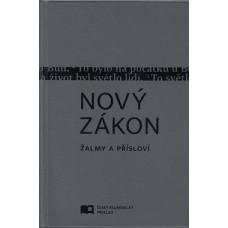 Nový zákon - ekumenický překlad - šedá barva