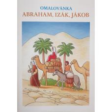 Omalovánky Abraham, Izák, Jákob