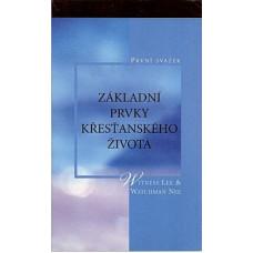Základní prvky křesťanského života, 1. svazek (bazar)